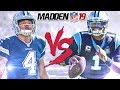 NEW EXCLUSIVE Madden 19 Gameplay!!! Dak vs Cam! All-Madden Gameplay