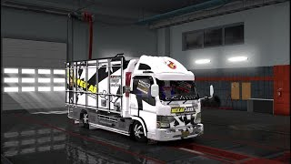 MODIFIKASI TRUCK CANTER V4 by SMT ETS2 MOD INDONESIA