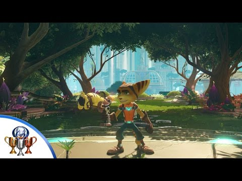 Ratchet & Clank (PS4) I Hate Lamp Trophy - All Lamp Locations in Kerwan's Aleero City