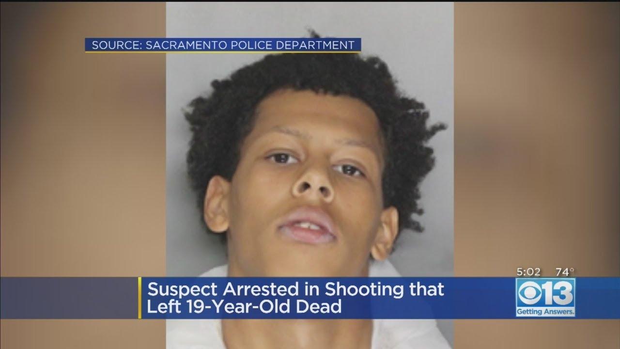 Police Arrest Suspect In Homicide 19-Year-Old Sacramento Man Syncere Dixon