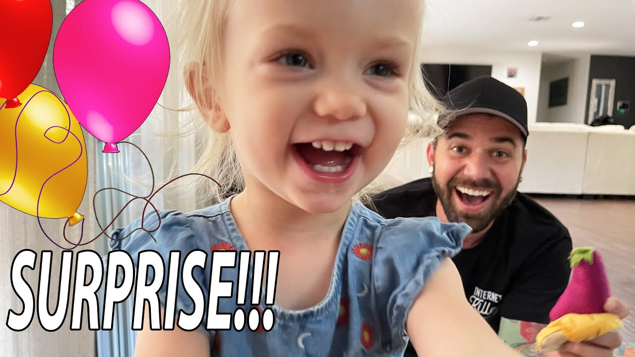 SURPRISE BIRTHDAY GIFT *most adorable reaction*