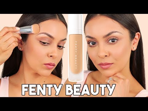 FENTY BEAUTY by RIHANNA Foundation + Primer First Impression - TrinaDuhra