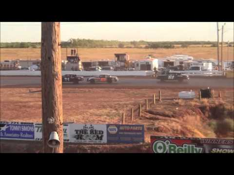 Street Stocks at Abilene Speedway 10-18-15