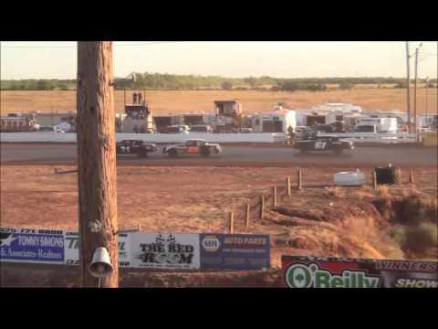 Street Stocks at Abilene Speedway 10-18-15