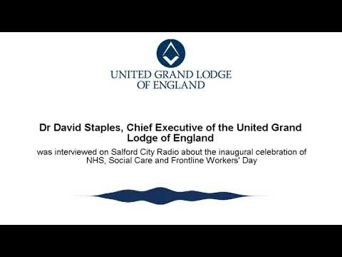 Dr David Staples discussing NHS, Social Care and Frontline Workers Day on Salford City Radio