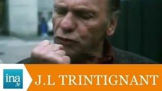 """Jean-Louis Trintignant dans """"Regarde les hommes tomber"""" - Archive vidéo INA"""