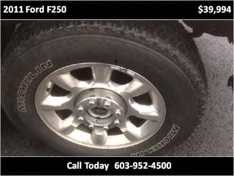 2011 ford f250 used cars salem nh youtube