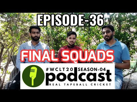 WCLT20 Podcast – Episode-09 | Full and Final Squads | WCLT20S04 Predictions | Umer Think | UT1