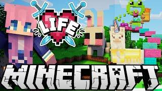 Dangerous Sky Parkour Challenge | Ep. 14 | Minecraft X Life SMP