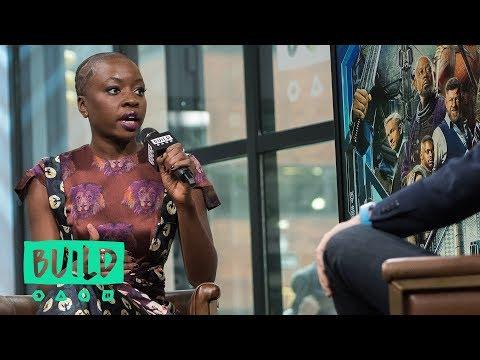"Danai Gurira Appreciates The Authenticity Of African Culture In ""Black Panther"""