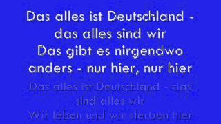 Die Prinzen - Das alles ist Deutschland (lyrics)