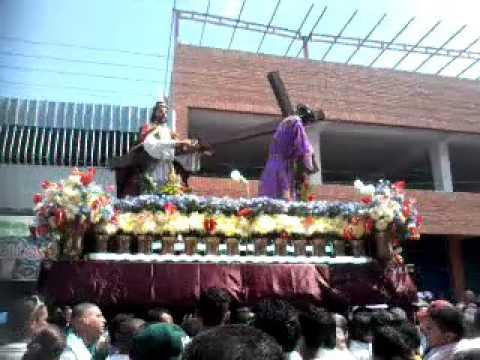 Semana santa cagua 2015  nazareno de cagua