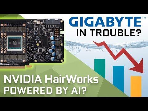 Real Time Hairworks on GTX 1180? & Gigabyte Lost 30% Revenue
