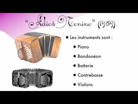 Analyse des 4 tangos de Piazzolla