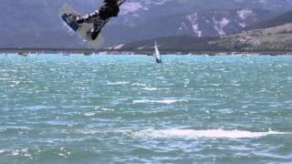 Altitude Kite lac de Serre ponçon les crots Un film de Christophe Nève Hautes Alpes PACA