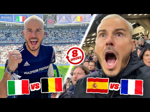 BENZEMA WONDER GOAL! EPIC Nations League Final Challenge | 2 GAMES 1 DAY! ⏰😱🌍 Thumbnail