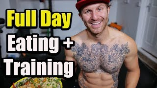 what l eat in a day! Full diary + workouts