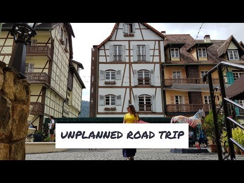 Vlog: The Unplanned Road Trip