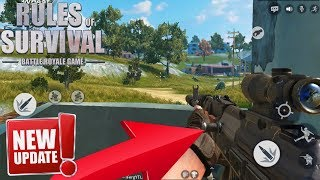 How To GET FIRST PERSON FAST AND EASY in Rules Of Survival on Mobile !