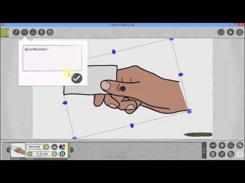 Ejemplo de uso del editor VideoScribe: http://www.contunegocio.es/tecnologia/aprende-a-crear-videos-con-videoscribe/ Un muy breve ejemplo de uso de la versión gratuita del editor de vídeos animados VideoScribe de Sparkol.com para ver su funcionamiento general