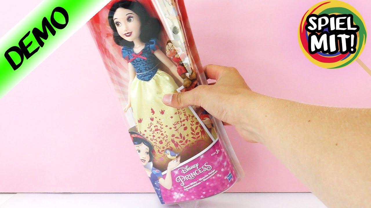 capelli per vestito Biancaneve grande Bambola con e parrucchiere KF1JTlc