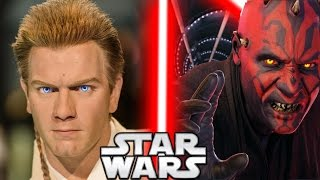 Why Did Darth Maul Lose to Obi-Wan Kenobi in The Phantom Menace? - Star Wars Explained