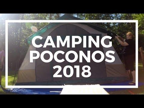 Poconos Keen Lake Camping 2017 GoPro Hero6