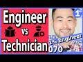 Engineering Technician vs Engineer | Engineering Technology vs Engineering