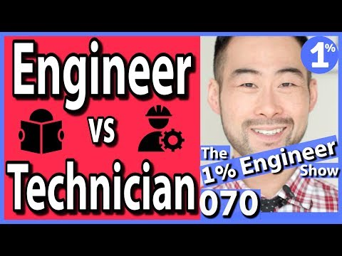 Engineering Technician Vs Engineer | Engineering Technology Vs Engineering