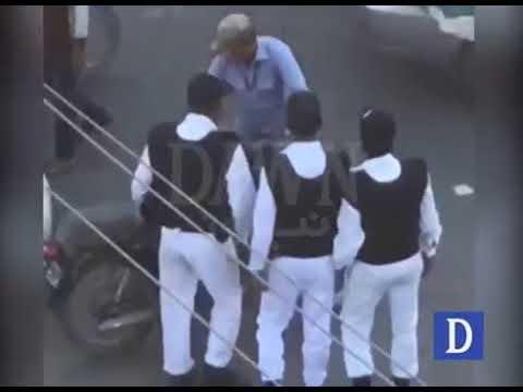 Karachi mein traffic warden ki sheri par tashadud ki video samne aagai