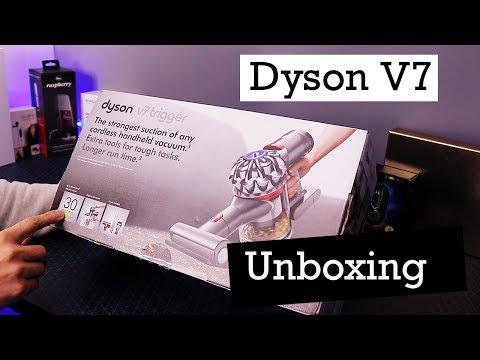Dyson V7 Trigger handheld vacuum cleaner - 🥊unboxing 🗳️