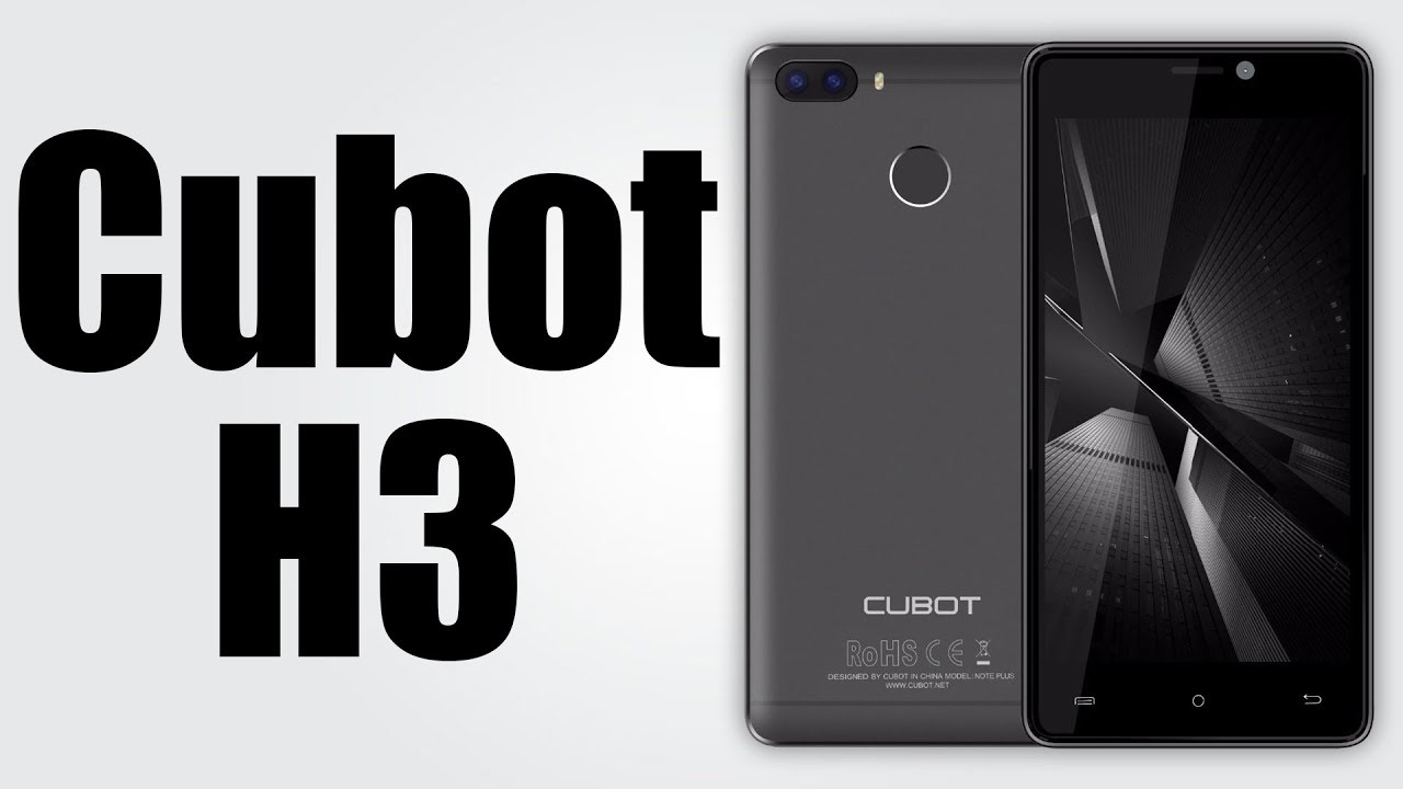 Cubot H3 - 5 0 Inch HD / Android 7 0 / 3GB RAM + 32GB ROM