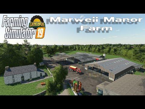 Farming Simulator 19 | first look | Marwell Manor Farm (British Map)