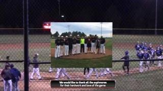 Baseball vs. Wentworth Military game 2