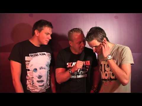 Scantraxx S.W.A.T. Tour 2009 'Outland' D-Block & S-te-Fan BACKSTAGE INTERVIEW