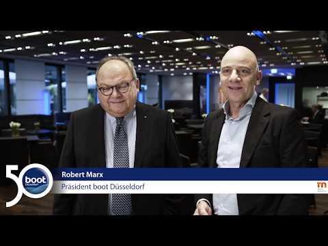 Boot Düsseldorf 2019 - Interview Werner M. Dornscheidt - Robert Marx