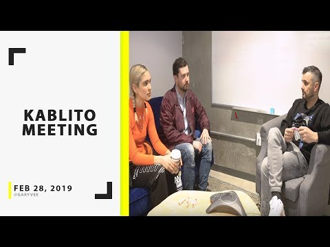 How to Make It as an Independent Artist in the Music Industry – GaryVee Meeting with Kablito