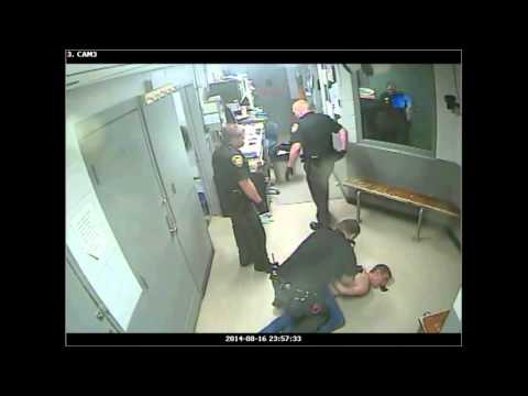 Lawrence County, OH Guards Beat Inmate (Shortened Version) Surveillance Footage