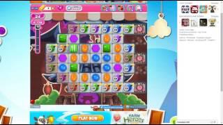 candy crush saga level 1485 no booster 3 stars 722 k pts