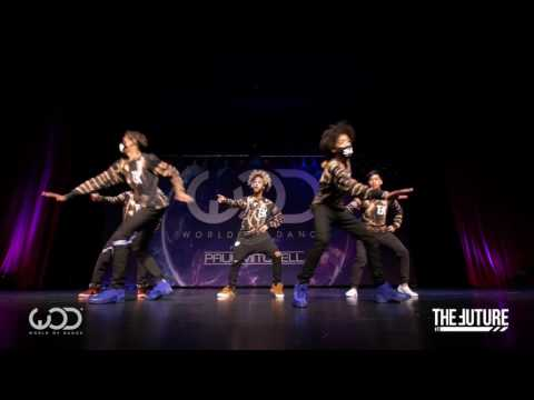 FRONT ROW | World of Dance Chicago 2016 | The Future Kingz f