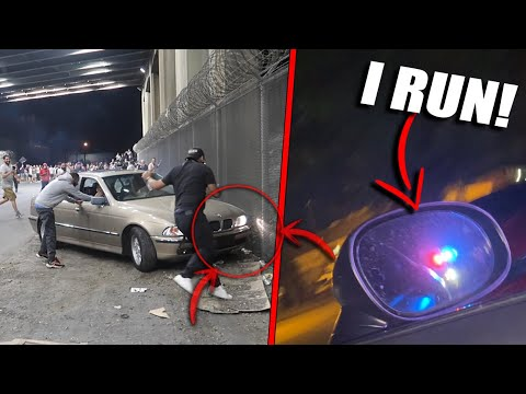Download I Got Into a HIGH SPEED POLICE CHASE!! BMW CRASHED Drifting...