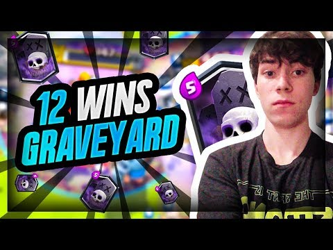 STRONGEST NEW GRAVEYARD DECK WITHOUT ROYAL GHOST - Clash Royale