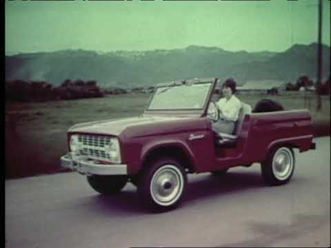 Ford Bronco Commercial