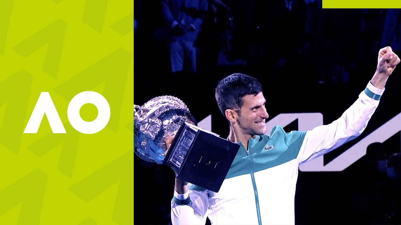 Novak claims his 9th Australian Open crown | Australian Open 2021