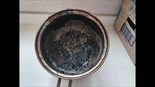 경기도 집안 음식 냄비 탄냄새 제거 시공