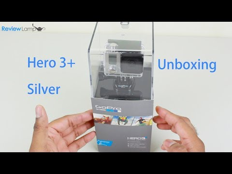 GoPro Hero 3 Plus Silver Edition Tutorial: Unboxing and Basic Setup