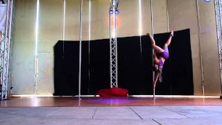 Madison H - Intermediate - 2015 Epic Pole Dance Competition