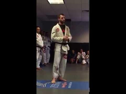 Dave's Black belt speech