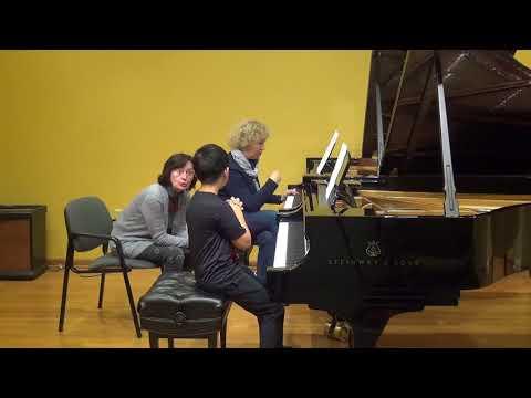 24.02.2018 Mira Marchenko's master-classes. Key Shang. Schmitt Music, Kansas City, USA.