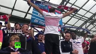«Депардье, доставай водку, мы приехали выиграть у тебя дома»: французские фанаты спели своей сборной